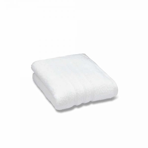 Zero Twist White Hand Towel
