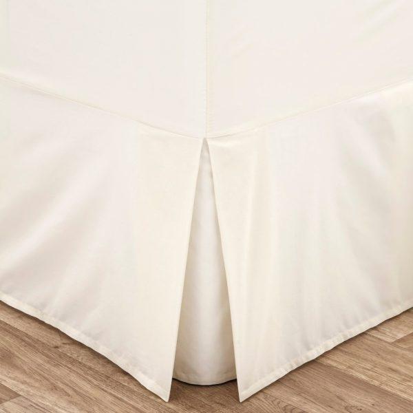 Cream Double Box Platform Sheet