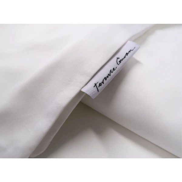 Terence Conran White Cotton Model Pillowcase