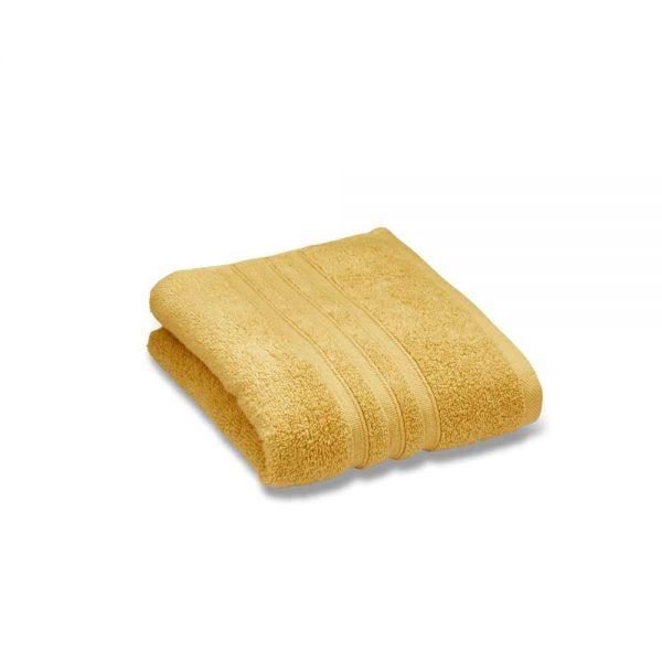 Zero Twist Ochre Face Cloth Pair