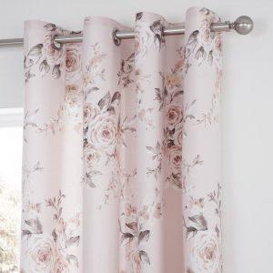 Canterbury Blush Curtains