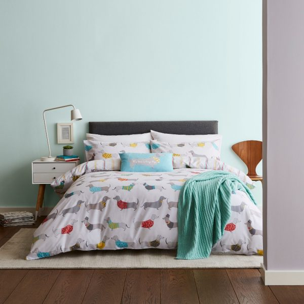 Silly Sausage Dogs Single Quilt Set