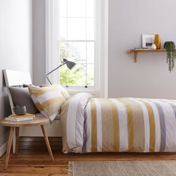Newquay Stripe Duvet Set