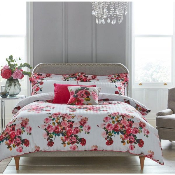 Roses Pink Duvet Cover Set