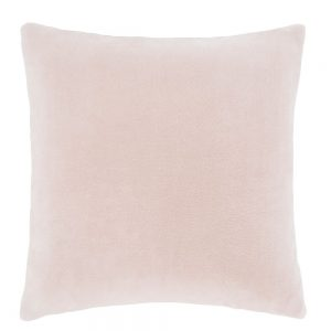 Blush Velvet Cushion Filled