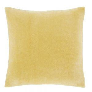 Ochre Velevet Cushion Filled