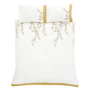 White Blossom Double Duvet Set