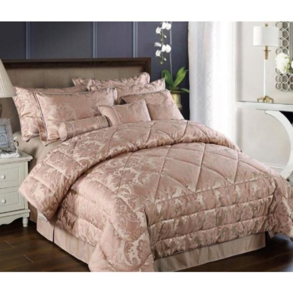 Vogue Blush Double Bed Spread
