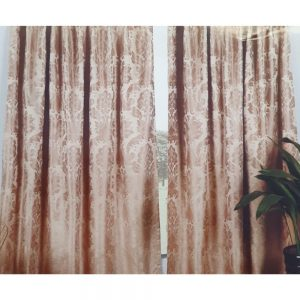 Vogue Blush 66x90 Lined Curtains