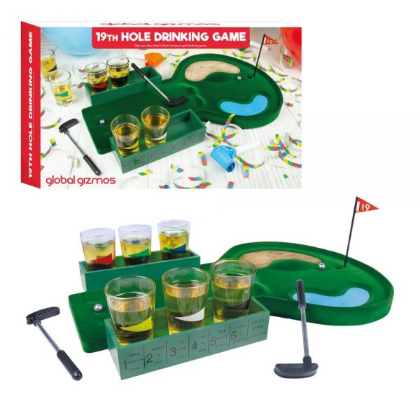 19th Hole Drinks Game
