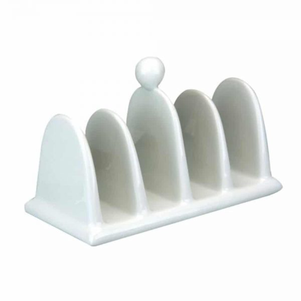White Porcelain Toast Rack