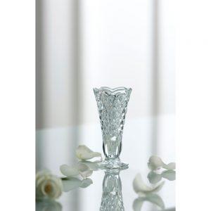 Galway Crystal Ashford Bud Vase 4.5inch