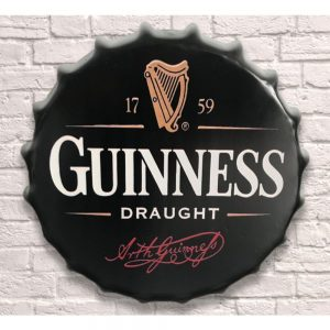 Guinness 40cm Bottle Top