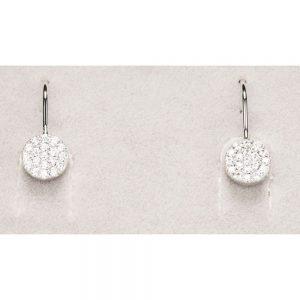 Newgrange Silver Droplet Earrings