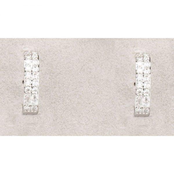 Newgrange Diamante Hoop Earrings