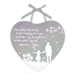 Reflections Of The Heart Mirror Plaque - Daughter