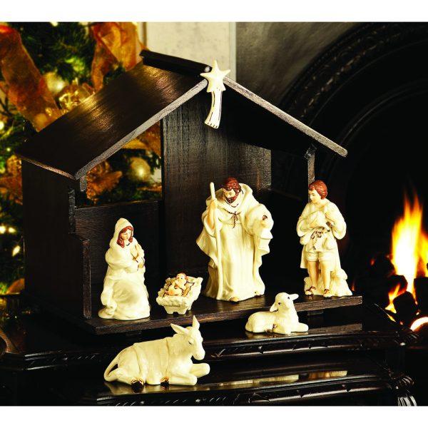 Belleek 8 Piece Nativity Set