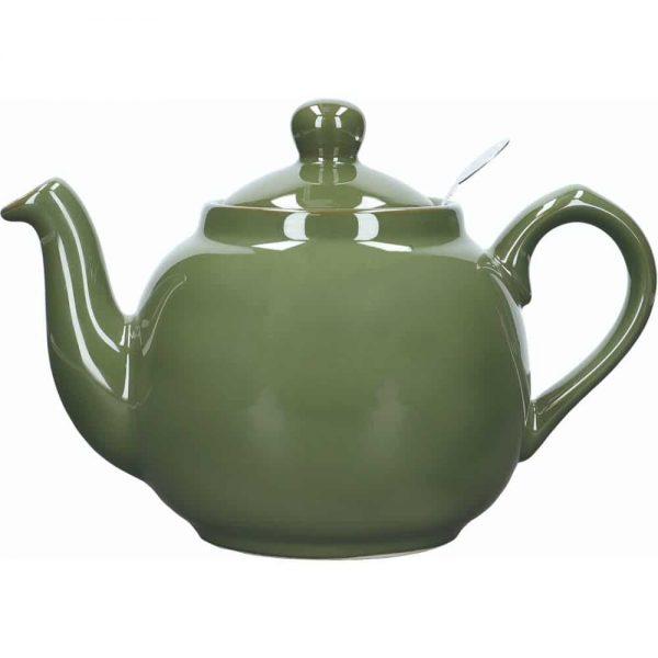 London Pottery Farmhouse 4 Cup Teapot Green