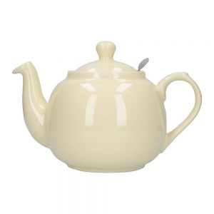 London Pottery Farmhouse 6 Cup Teapot Ivory