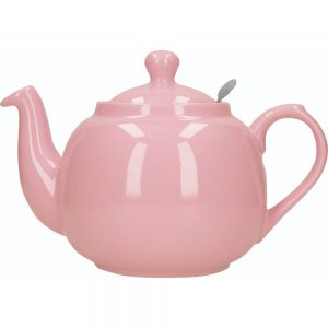 London Pottery Farmhouse 6 Cup Teapot Pink