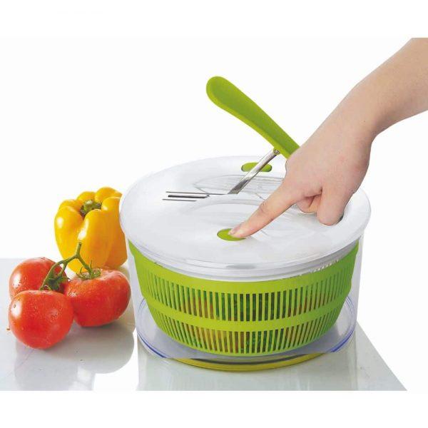Salad Spinner Via Pedal 24cm