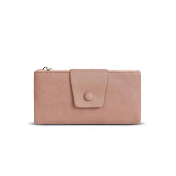Dark Pink Purse 9cm x 18cm