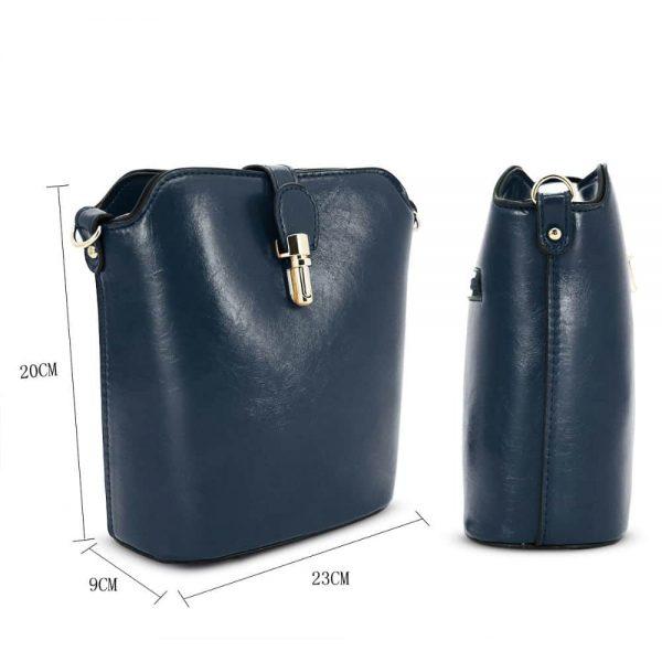 Gessy Dark Blue Handbag