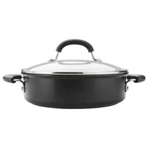 Circulon Total Hard Anodized Saute Pan 28cm