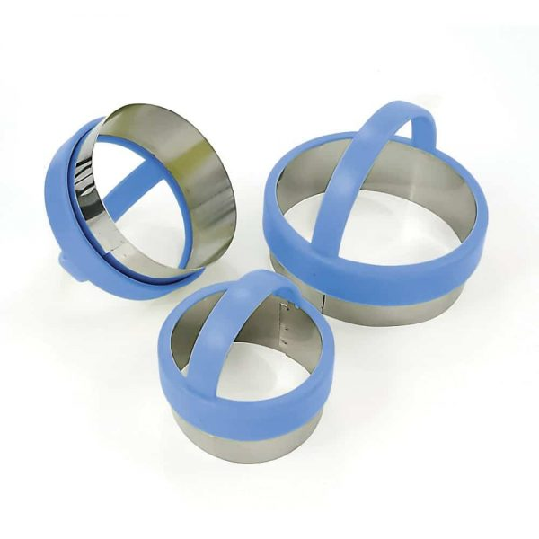 Round Pastry Cutters Set Of 3