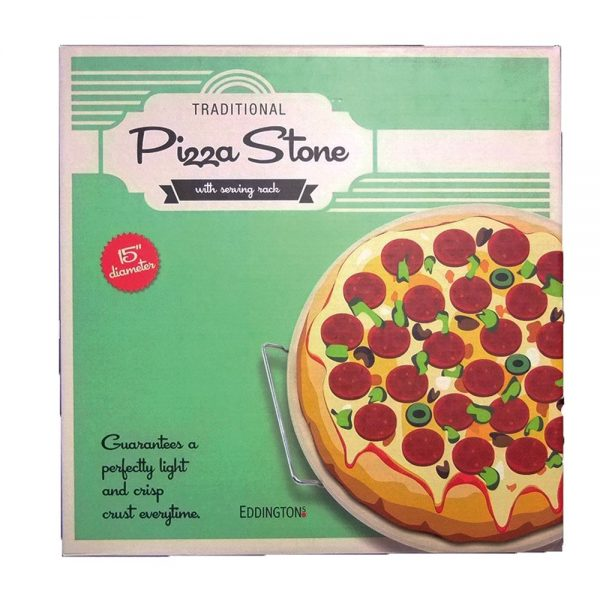 Eddingtons Traditional Pizza Stone 15in