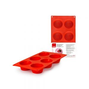 6 Multicup Mould Strawberry
