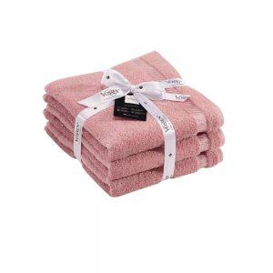 Vossen Lotus Hand Towel Bale Set of 3