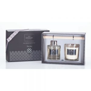 Fresh Linen Luxury Candle and Diffuser Set