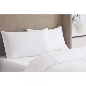 Tencel White Pillowcases Pair Standard