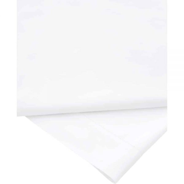 Sheridan 1000 Thread Count Snow Double Flat Sheet