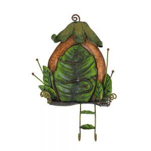 Fairy Door   Leaf Door with Ladder