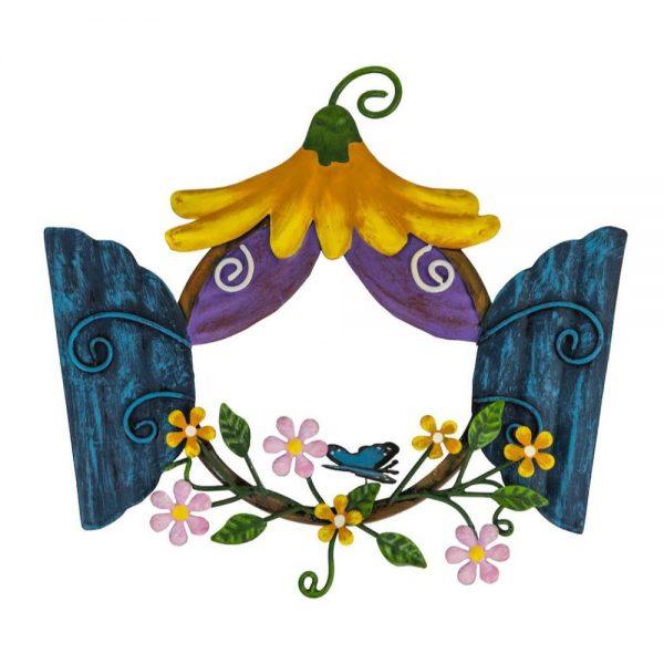 Fairy Kingdom - Window Round with Yellow Canopy