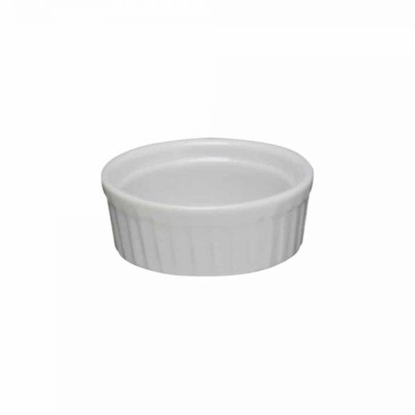 White Porcelain Ramekin 6.5x2.5xm
