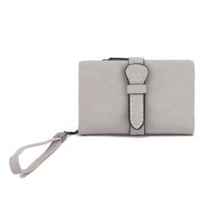 Gessy Purse In Grey 9 x 14cm