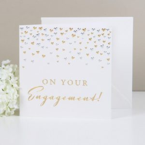 Amore Deluxe Card On Your Engagement