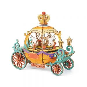 Pumpkin Carriage DIY Model Kit
