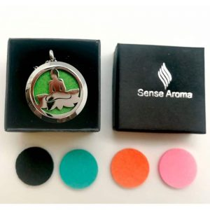 Buddha Aroma Pendant with Changeable Discs