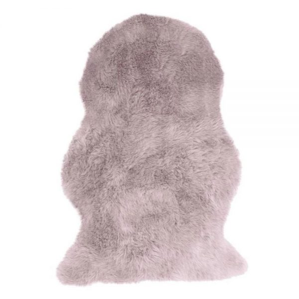 Auckland Single Faux Sheepskin 70x100cm Pink
