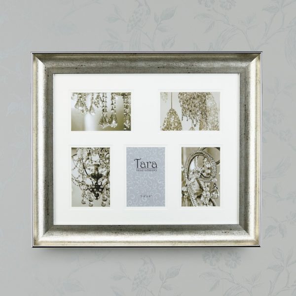 Lucy Collage Frame Champagne Five 4 X 6