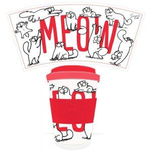 Bambootique Simons Cat DW Travel Mug