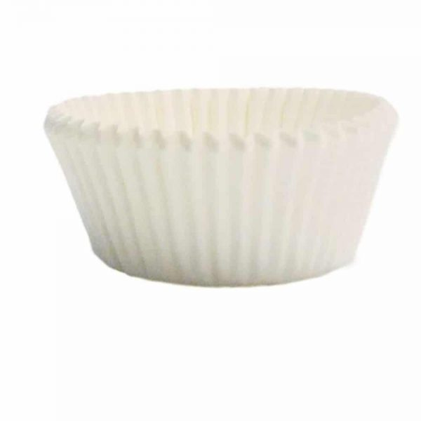 White Paper Mini Baking Cups Pack of 100