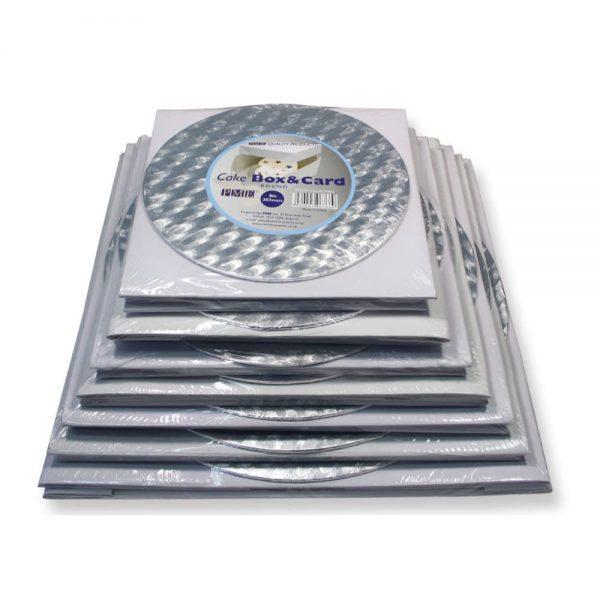 PME 10in Round Cake Card & Box