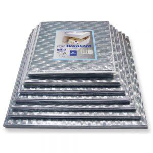 PME 12in Square Cake Card & Box
