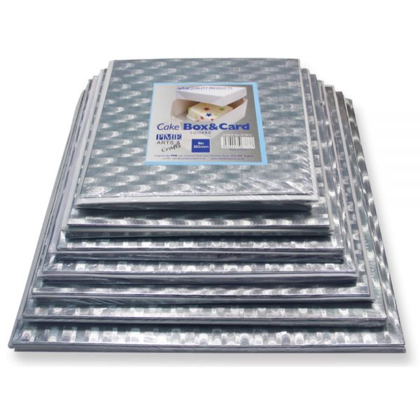 PME 14in Square Cake Card & Box