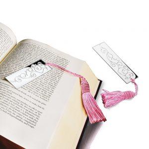 Book Mark Pink Tassel